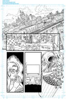 Sequential comic sample page