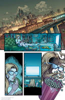 Supergirl - DC Comics Page Sample