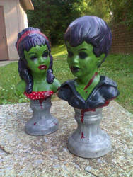 Zombie Statues