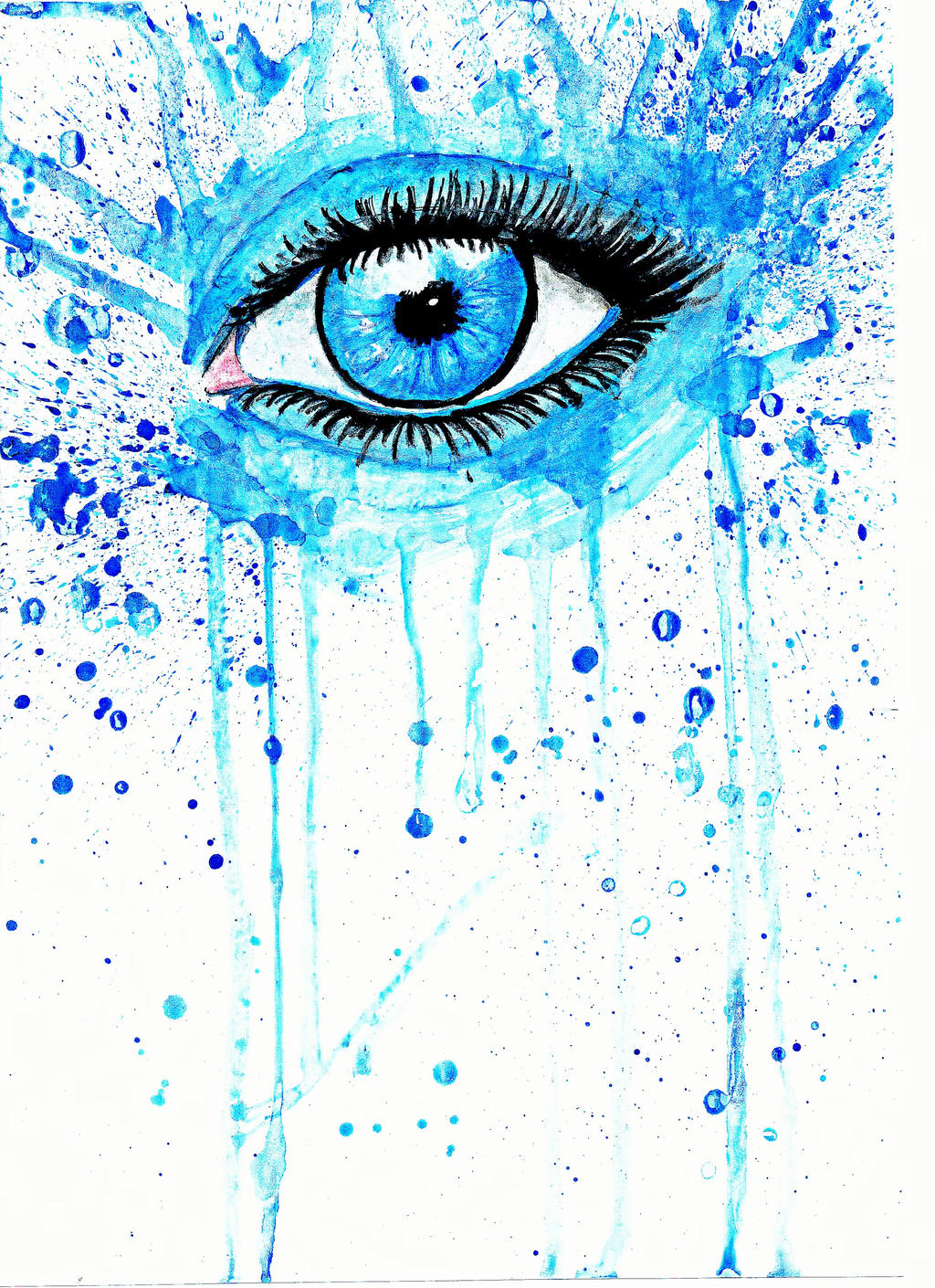 Watercolor Eye by Nana749