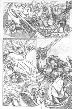 Lady Death tryout page 1