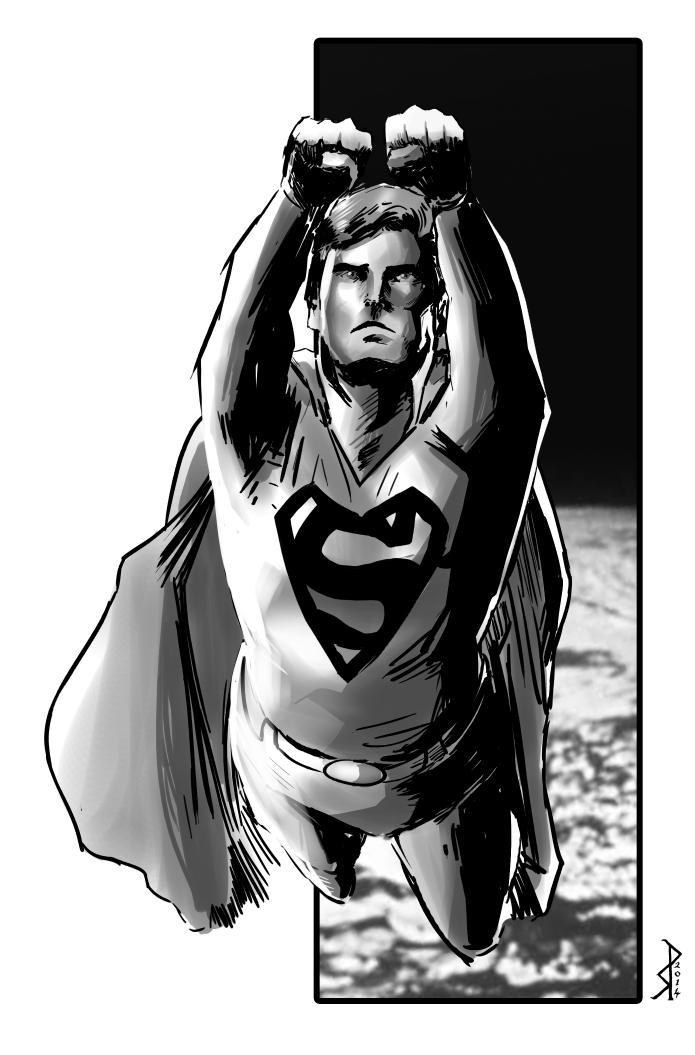 Superman by klaatu81