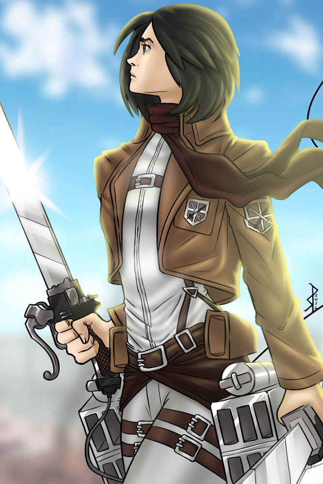 Mikasa Ackerman by klaatu81