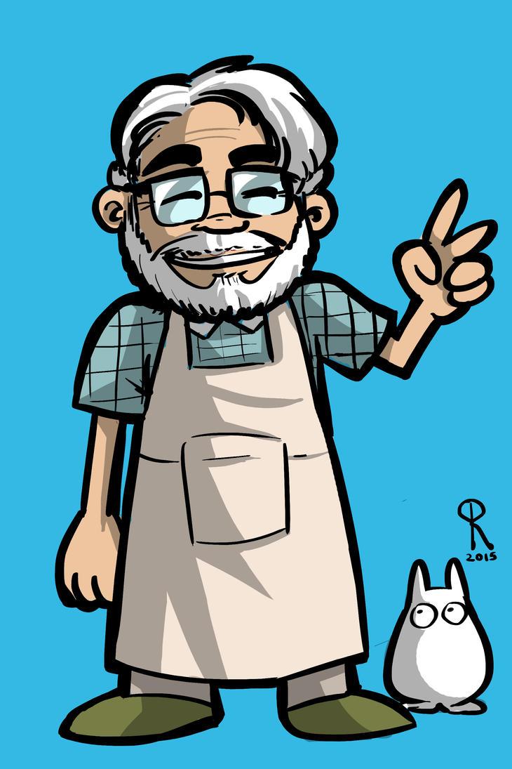 Miyazaki by klaatu81