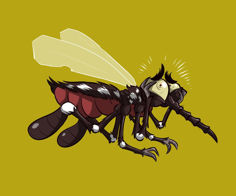 Dengue Mosquito by klaatu81