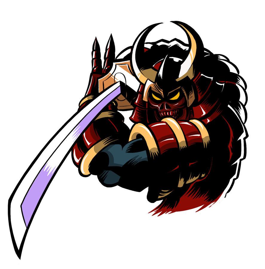 Samurai Demon Warrior by klaatu81