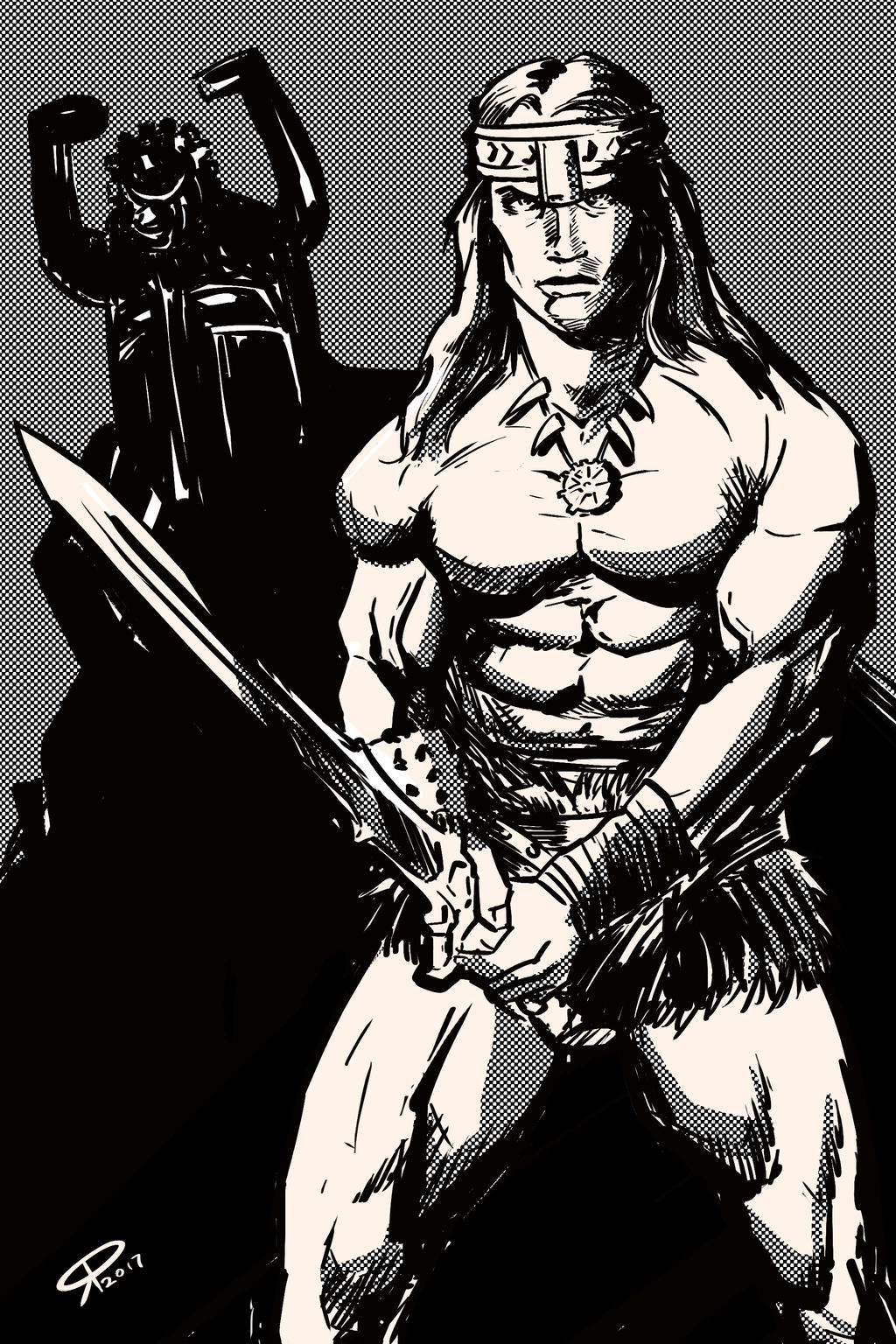 Conan The Barbarian by klaatu81