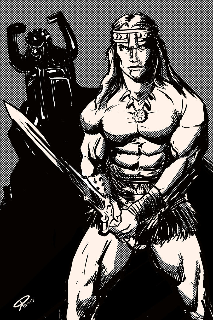 Conan The Barbarian by klaatu81