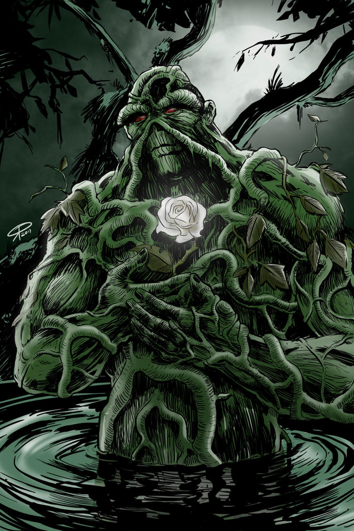 Swamp Thing (colors) by klaatu81