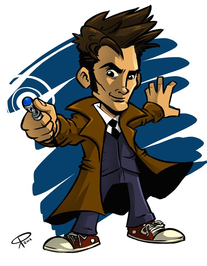 The Tenth Doctor by klaatu81