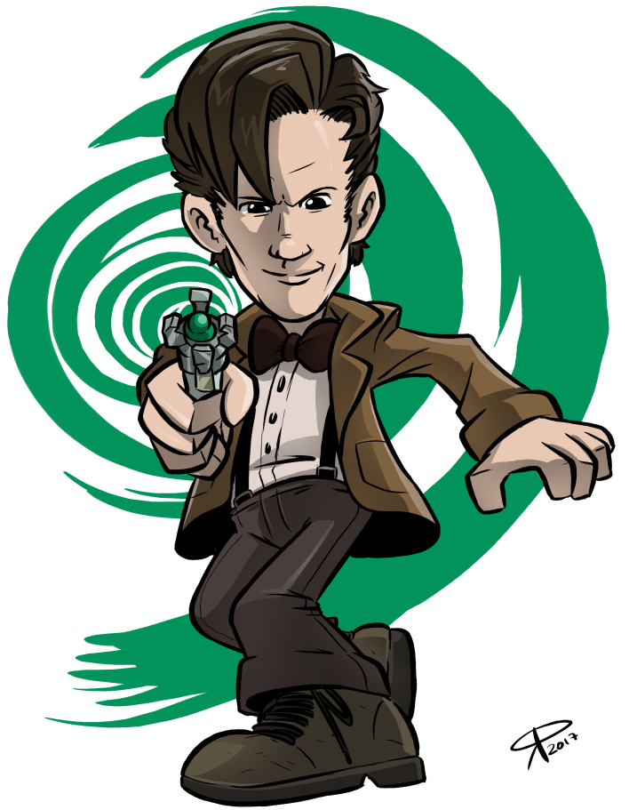 The 11th Doctor by klaatu81