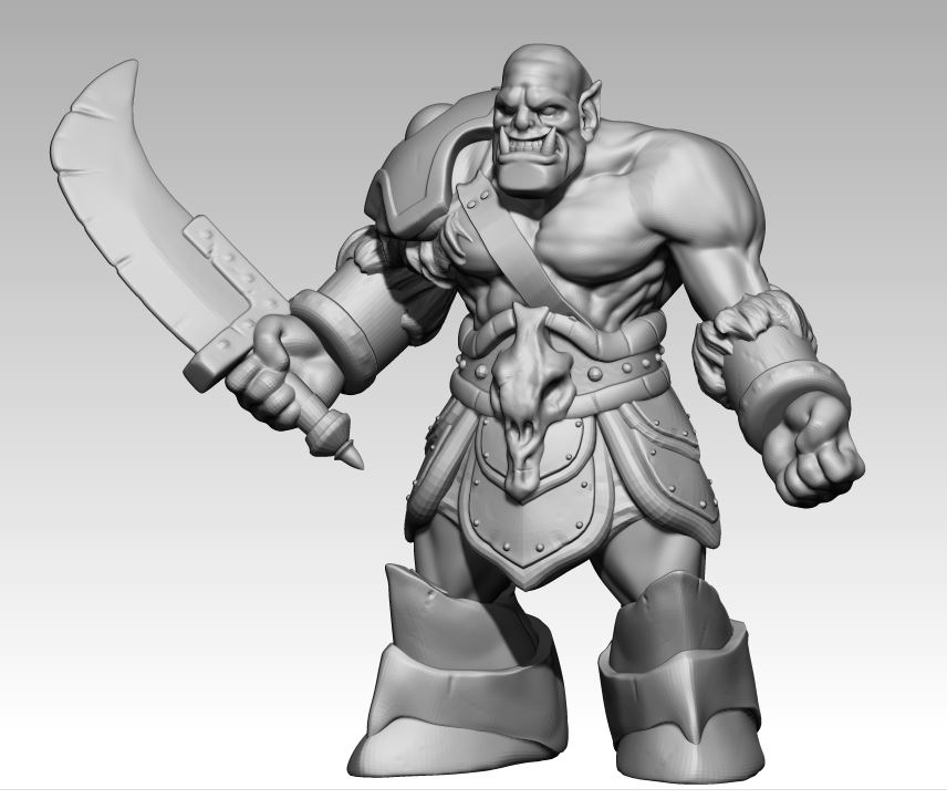Orc Warrior 2 by klaatu81
