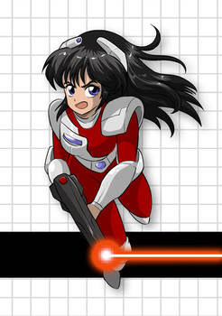 Janine from Red Laser Z