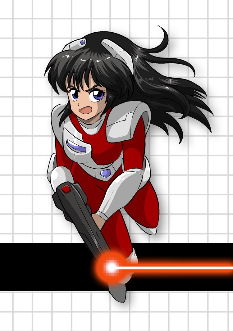 Janine from Red Laser Z by klaatu81