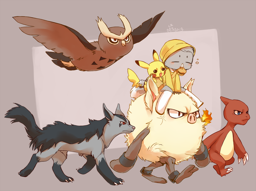 Min's poketeam by Mineiti