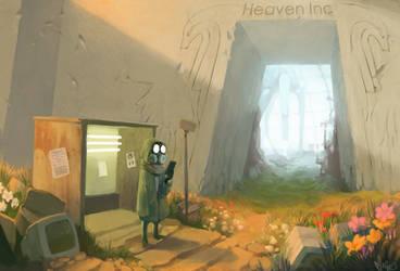 Heaven Inc by Mineiti