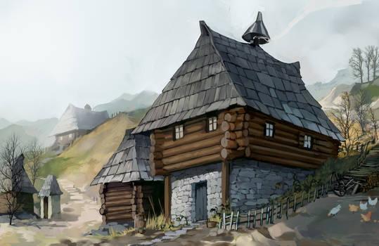 A house in Bratkowice