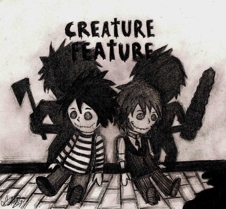 Creature Feature Dolls by LookAliveZombie