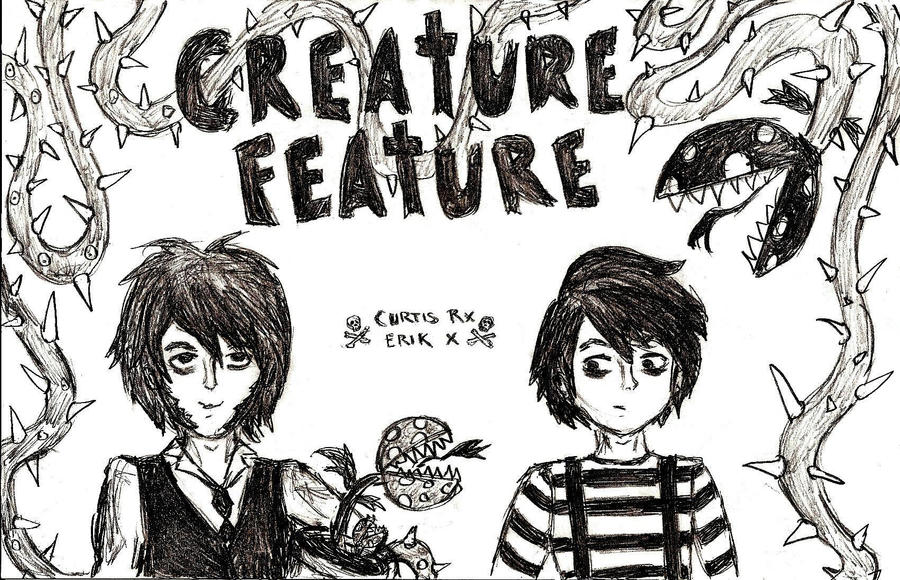 More Creature Feature by LookAliveZombie