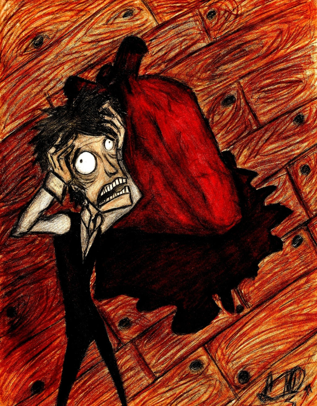 The tell tale heart 2 revote by amegoddess on deviantart the tell tale heart by lookalivezombie buycottarizona Images