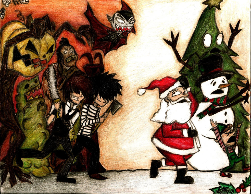 Creature Feature Halloween Vs Christmas By