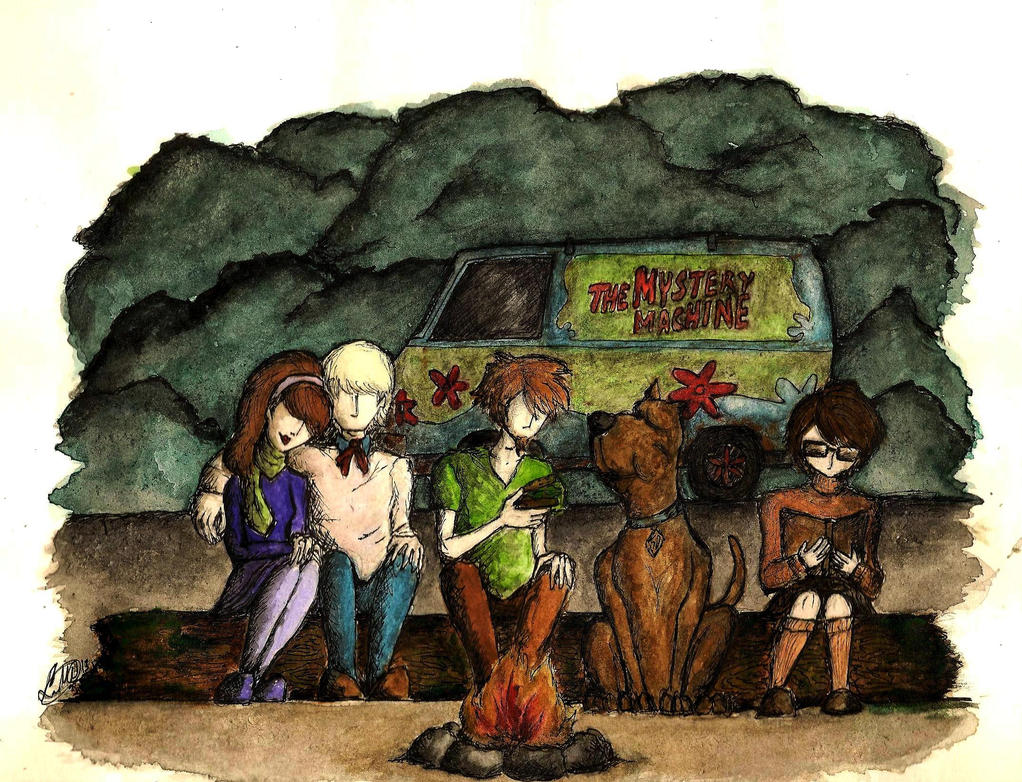 Scooby-Doo by LookAliveZombie