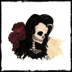 Mrs. Bones by LookAliveZombie