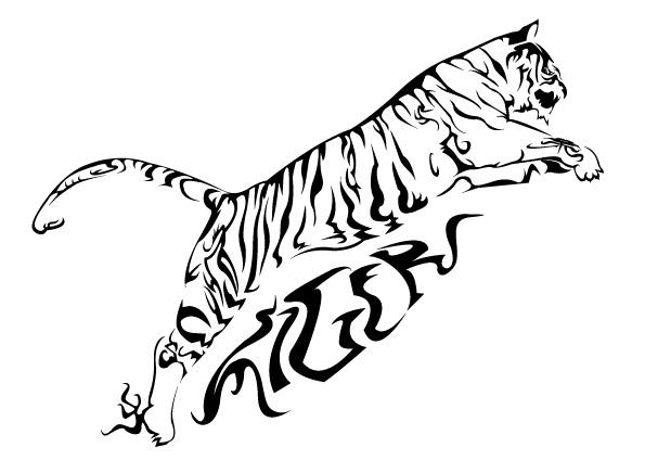 tiger johnsoulwrappin on deviantart