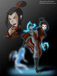 Azula, Queen of evil by Niban-Destikim