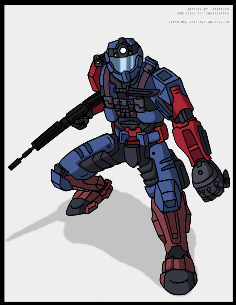 how to draw a halo spartan easy cartoons