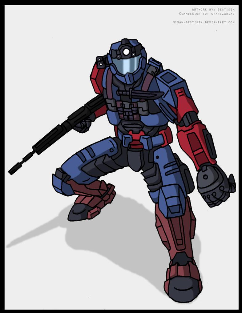 Halo Spartan Persona by Niban-Destikim on DeviantArt