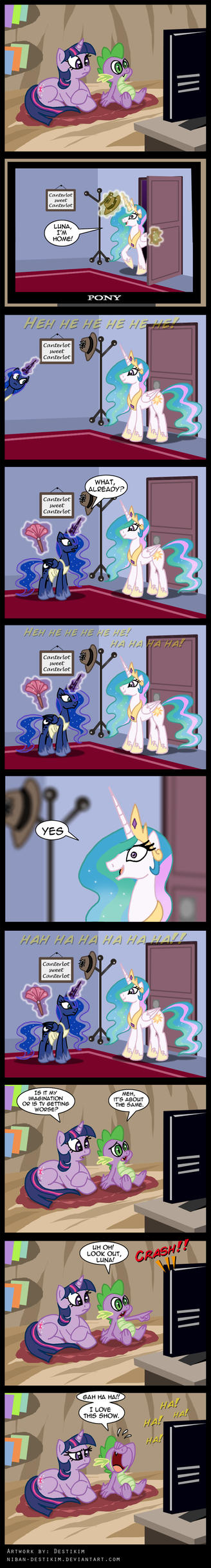 The Celestia and Luna show! by Niban-Destikim