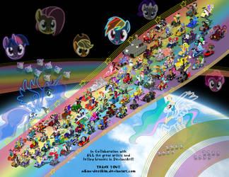 The Pony Kart Massive Collab!! by Niban-Destikim
