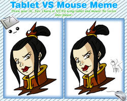 Tablet vs Mouse meme by Niban-Destikim