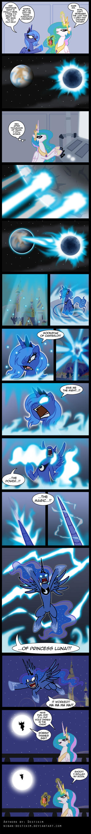 Prelude of the Nightmare Night by Niban-Destikim