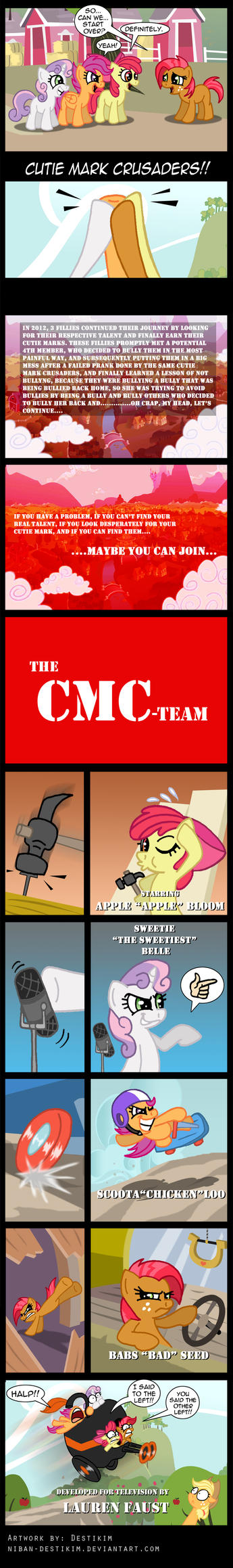 The CMC-Team by Niban-Destikim