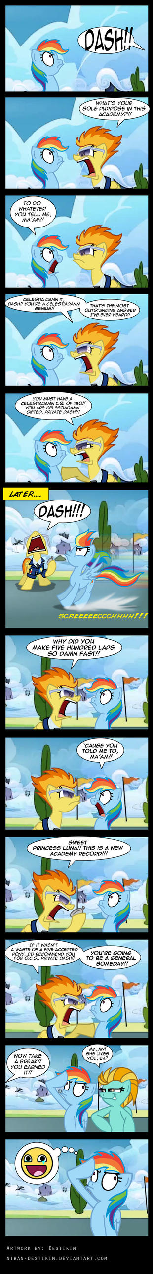 Yes Drill Sergeant!! by Niban-Destikim