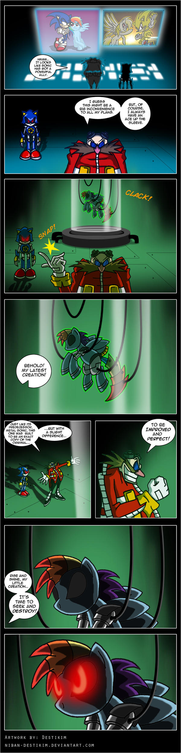 My Metal Pony - It's ON by Niban-Destikim