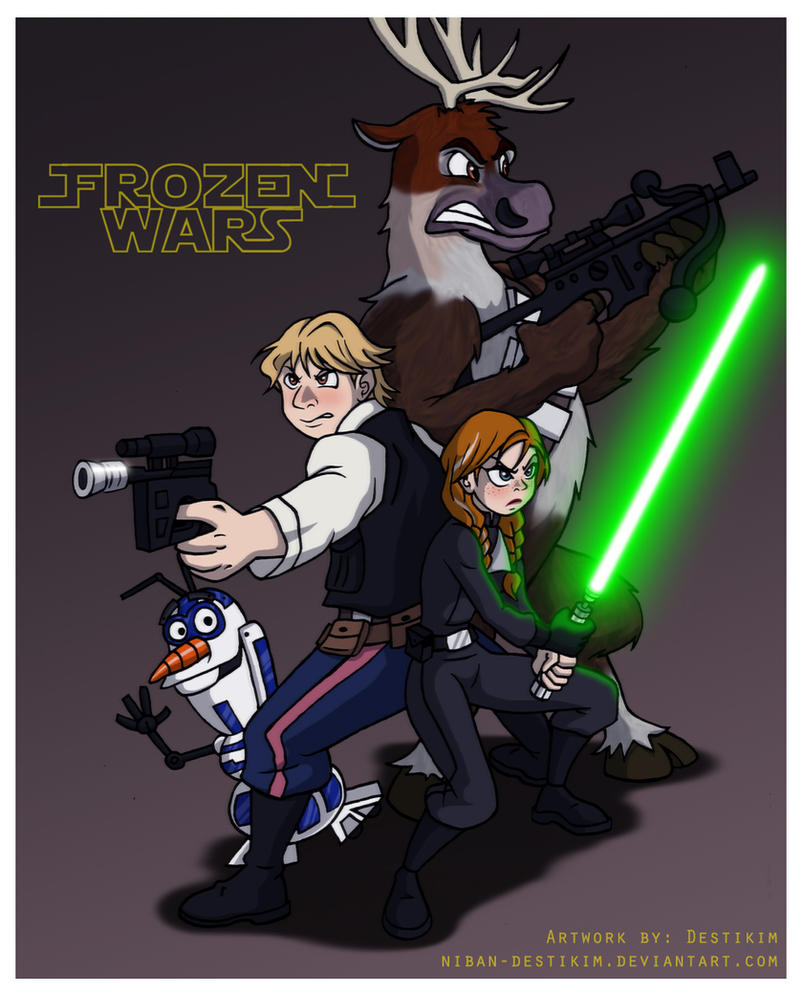 Frozen Wars - Return of the Princess by Niban-Destikim
