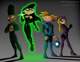 Commission: Hey Green Lantern