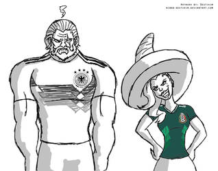 Overwatch World Cup: Germany 0-1 Mexico by Niban-Destikim