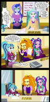 Commission: The Dazzlings enrolment