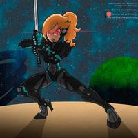 Commission: Rosalina the Swordlady by Niban-Destikim