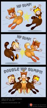 Commission: Princess Hip Bump