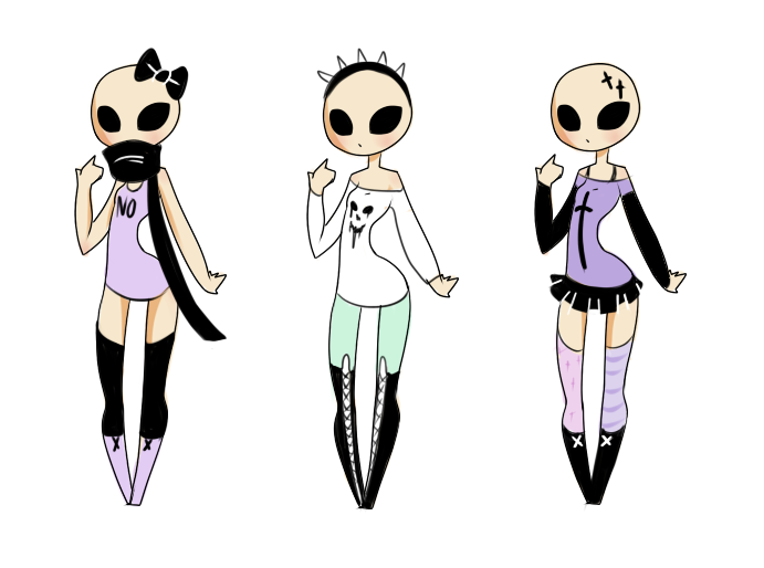 f2u pastel goth outfits by mikitara on deviantart