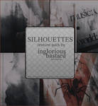 Silhouettes Texture Pack #01 by inglorious-bastard
