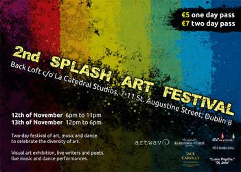 2nd Splash Art Festival by Raijn-com