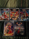Power Rangers Super Megaforce DVDs