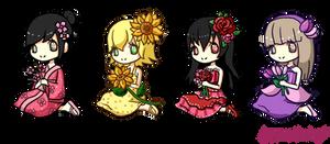 Flower Gijinkas