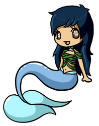 Kiwi's OC Mermaid